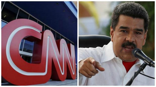 Maduro Kicks CNN Out Of Venezuela For Spreading Fake News