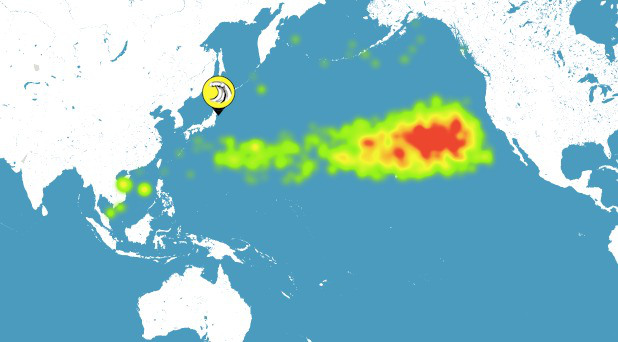 Media Reports on Warm 'Blob' in Pacific Ocean Pretend it Can't Be Related To Huge Plume of Radioactive Waste