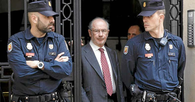 Fmr IMF Chief Sent to Jail As Spain Prosecutes 65 Elite Bankers in Enormous Corruption Scandal