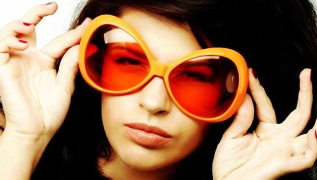 Why I Wear Orange Sunglasses at Night (to Block Blue Light)