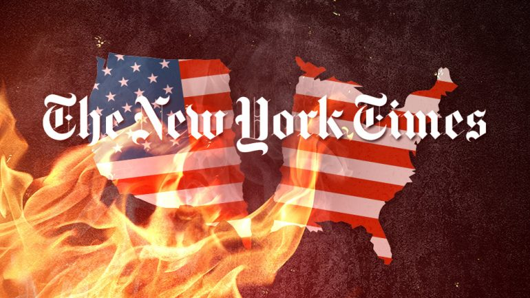 NYT Commits TREASON In Fake News Attempt To Overthrow The United States Government