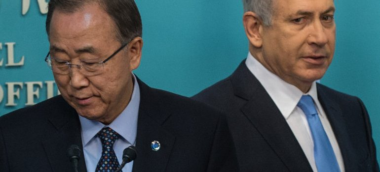"UN Chief Slams Israel, Calling Them ""Gangsters and Hoodlums"""