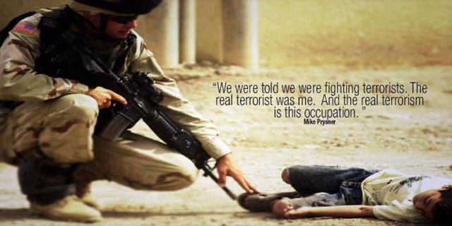 """US Soldier: """"The Real Terrorist Was Me And The Real Terrorism Is This Occupation"""""""