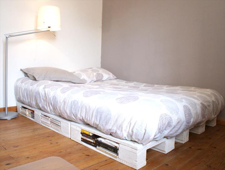 Unique Why Buy a Bed When You Can Use Pallets To Make One Here Are Fantastic Ideas