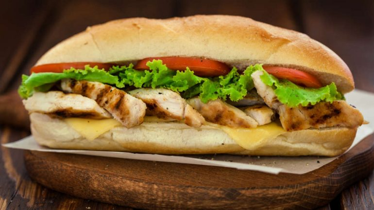 Subway Chicken Contain Less Than 50 Percent Chicken DNA