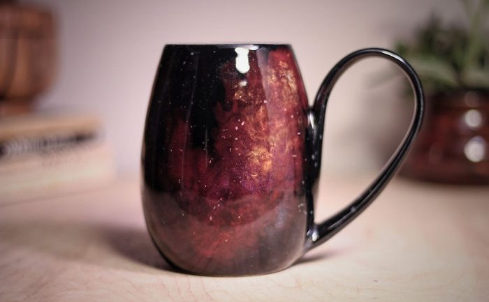 Galaxy Inspired Ceramics That Let You Drink From The Stars