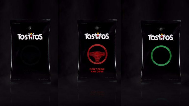 This Bag Of Chips Can Sense If You've Been Drinking And Call You An Uber