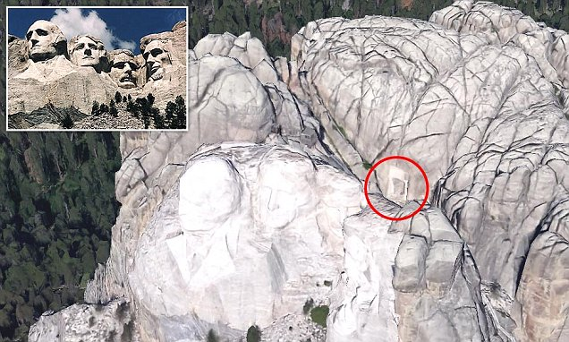 The Hidden Room Behind Abraham Lincoln's Face On Mount Rushmore …..And There's Something Amazing Inside