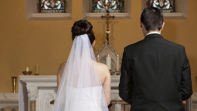 The Bizarre Reason Brides Stand on The Left at Weddings
