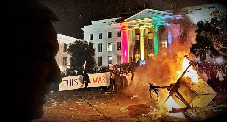 The New Wave of Violent Protests is Exactly What The Elite Want