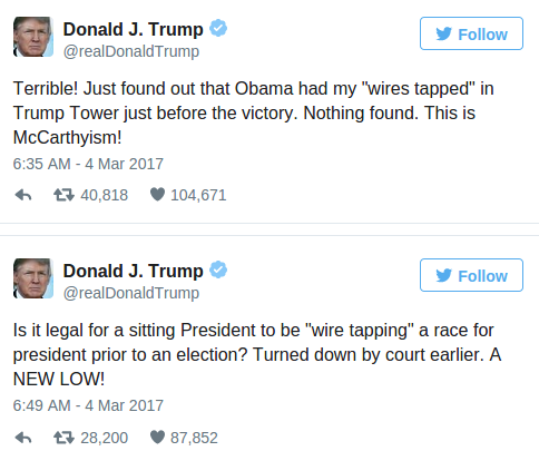 Image result for obama wiretapping