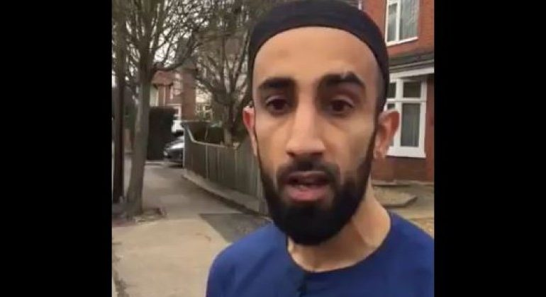 Shock Video Shows Muslim Man Racially Abusing Victim