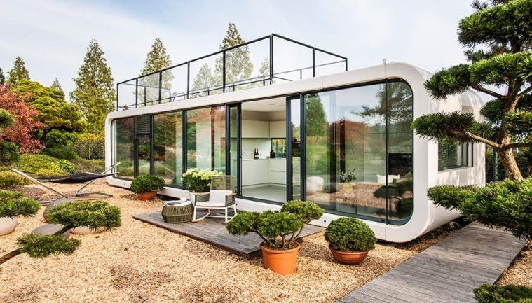 Self Contained PREFAB Home Lets You Live Almost Anywhere In The World