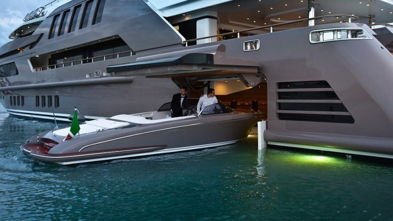 It's Being Called The Greatest Yacht Ever Built. Get Rare Tour Inside $60,000,000 Boat