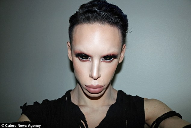 Man Spends $50,000 On Over 100 Procedures To Transform Into A 'Genderless' ALIEN