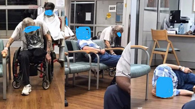 Elderly Veterans In Pain 'Disregarded': Facebook Photos Spark Outrage
