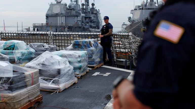 Coast Guard Seizes Over 4 Tons of Cocaine in Atlantic