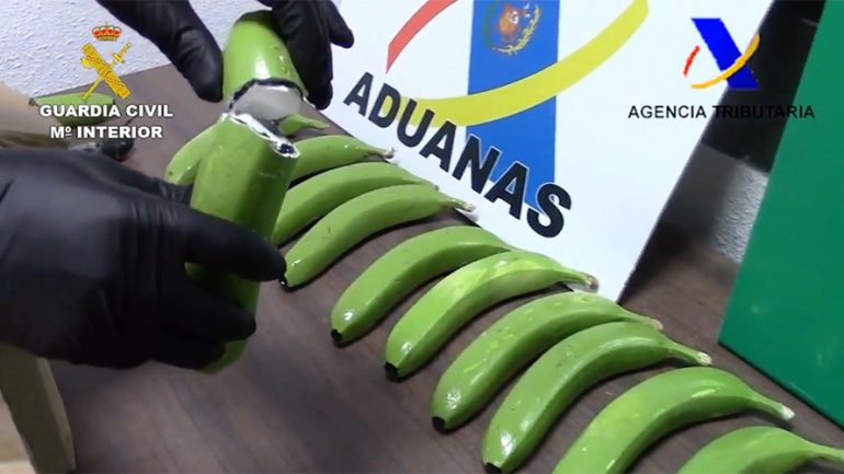17 Kilos of Cocaine Found Among Fake Fruit in Spain