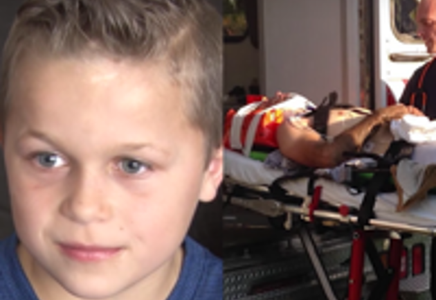 8-Year-Old Boy Says Angels Helped Him Save His Father's Life