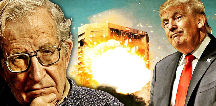 Noam Chomsky: If Trump Support Drops, US May See 'Staged Terrorist Attack'