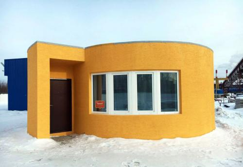 This House Was 3D Printed In Under 24 Hours At A Cost Of Just $10,000