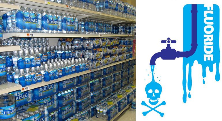 Your Bottled Water is Filled With Fluoride! Learn What Brands To Avoid