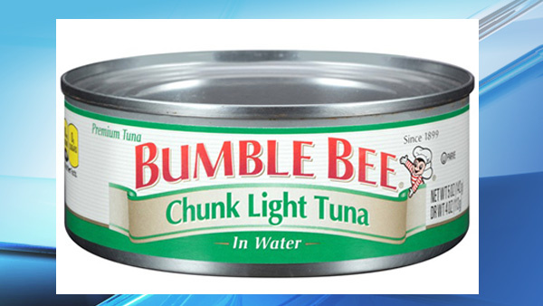 Bumble Bee Issues Recall of Canned Tuna That Could Lead To Death If Eaten