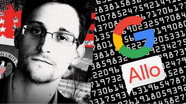Snowden Issues Warning: Do Not Use Google's Messaging App Under Any Circumstances