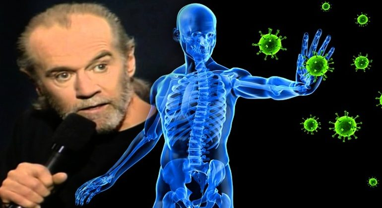 George Carlin Exposes Truth About Germs & The Immune System