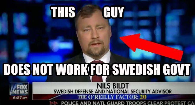 FOX News Exposed Hosting Fake Swedish 'Security Advisor' To Fear Monger on Refugees
