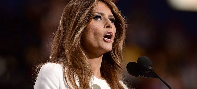Melania Trump Urges Americans To Stop Trusting Big Pharma