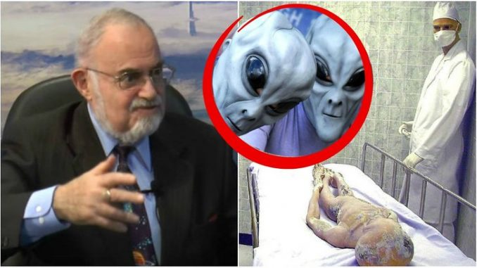 Nuclear Physicist Admits 'Aliens Are Already Here'