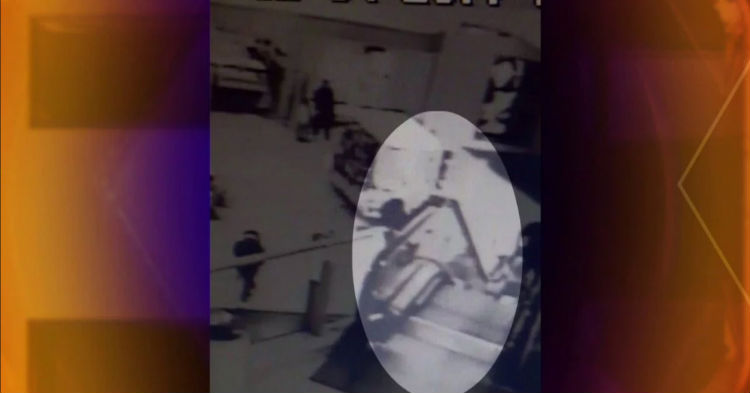 Mall Security Camera Captures What Can Only Be Described As A Guardian Angel In Action