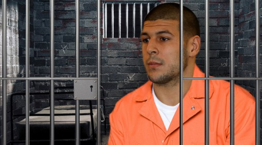 "Aaron Hernandez's Cell Covered In Blood Writing Spelling ILLUMINATI and Bible Quote ""John 3:16"""