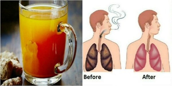 For Smokers and Ex-Smokers: This Drink Will Cleanse Your Lungs