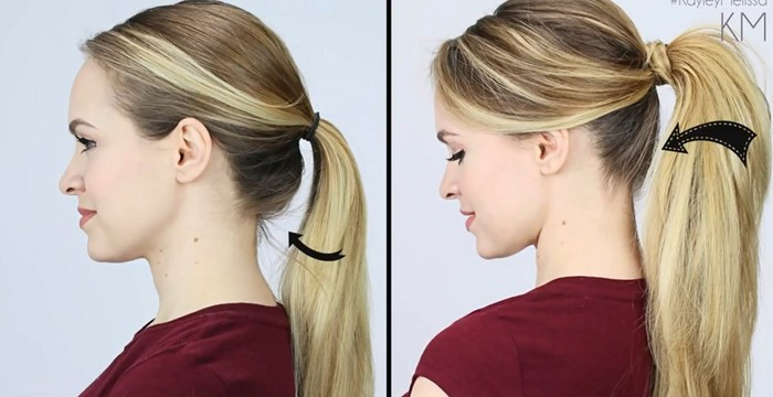 I Have Been Tying My Hair The Wrong Way All This While
