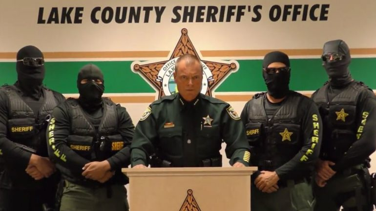 'We're Coming For You': Masked US Deputies Issue Chilling Warning To Drug Pushers