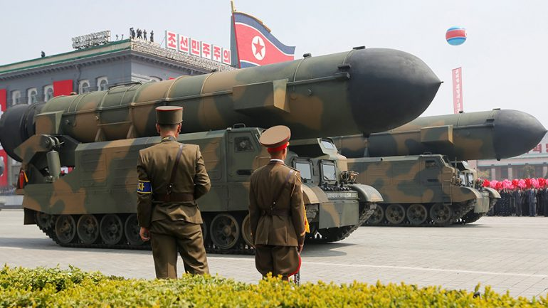 N. Korean Missile Fails, Blows Up 'Almost Immediately' After Launch