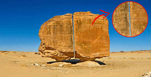 Meet The Megalith of Al-Naslaa—Split in Half With LASER LIKE Precision