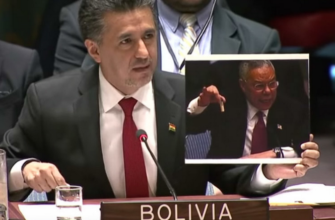 Bolivia mercilessly trolls US over Iraq WMD lie in front of UN Security Council VIDEO — RT Viral