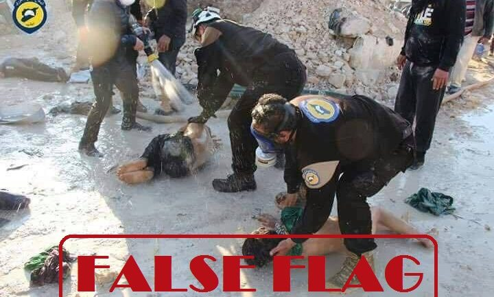 Chemical Weapons Attack In Syria Exposed As False Flag