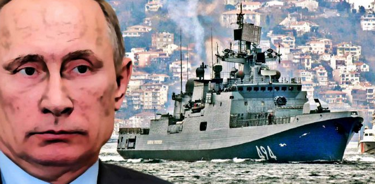 """In Violation of Int'l Law"" — Russia Deploys Cruise Missile Frigate in Response To Syrian Strike"