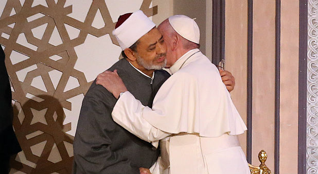 Did Pope Francis Just Make Another Move for One World Religion?
