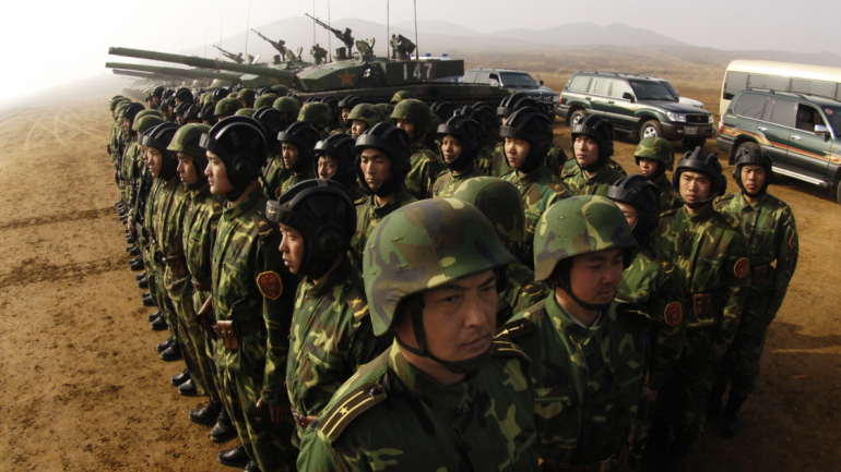 China Just Deployed 150,000 Troops to North Korean Border