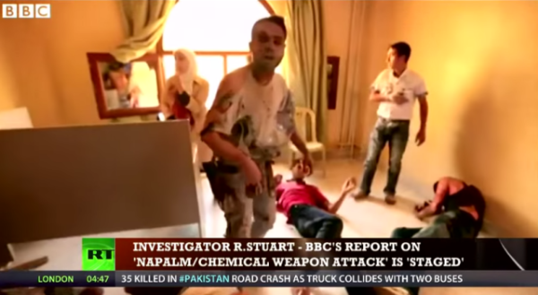 BBC, CNN News Caught Staging FAKE News Chemical Attacks In Syria (2013)