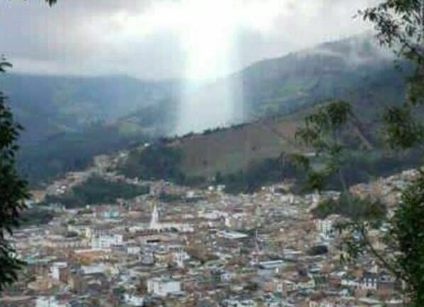'Figure Of Jesus' Appears Above Colombian City Wiped Out By Giant Landslide Killing 17 People