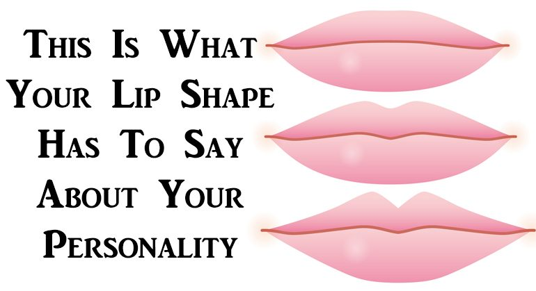 This Is What Your Lip Shape Has To Say About Your Personality