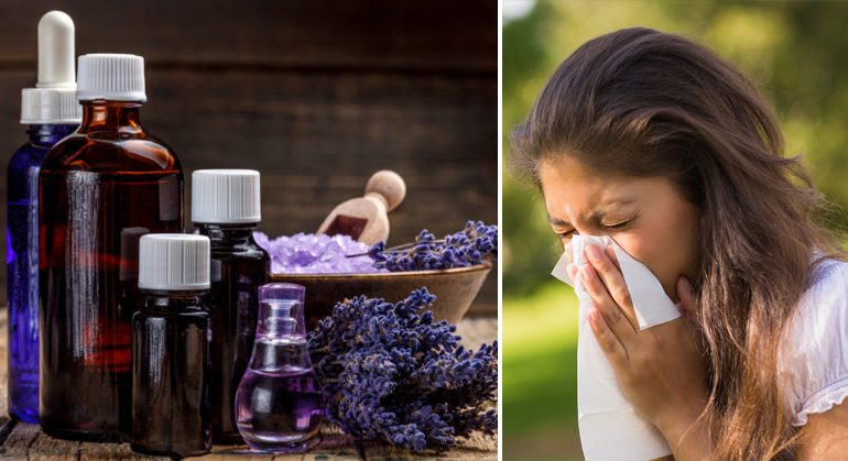 5 Essential Oils That Stop Allergies Forever