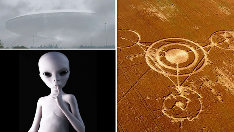 Scientist Claims CROP CIRCLES Are 'ALIEN Messages From The Future'