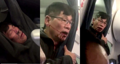 Disturbing New Video Shows Removed United Passenger With His Face Covered In Blood